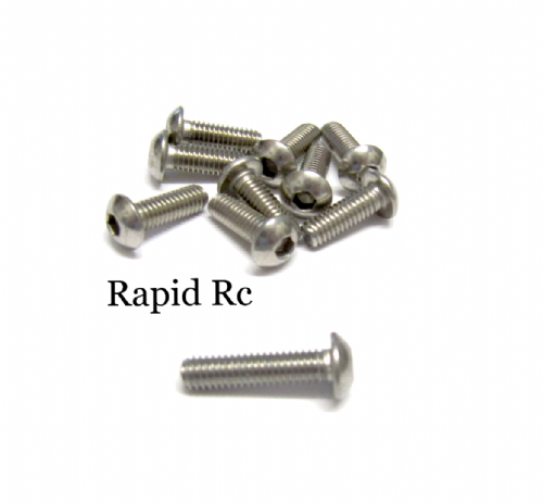 M4x16mm Stainless Steel Socket Button head Bolt